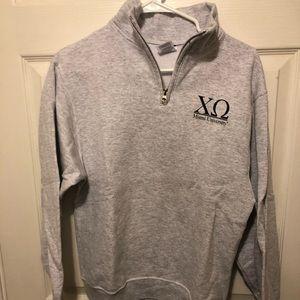 Small Gray Chi Omega Swearshirt